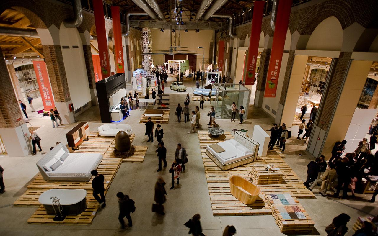 Pierluigi molteni architetto allestimento la fabbrica del for Lavoro architetto milano